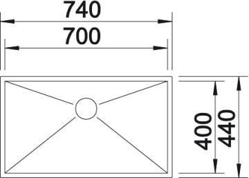 Blanco Zerox 700-U 2