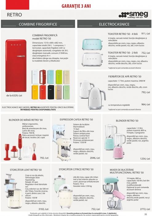 Catalog Blanco 2019, electrocasnice incorporabile 34
