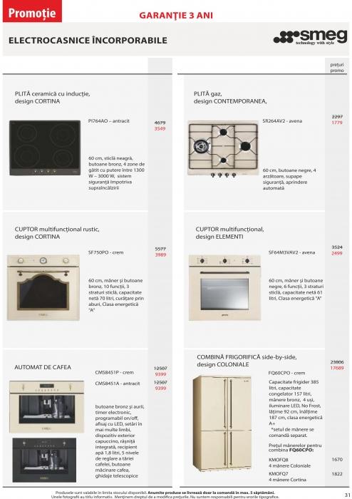 Catalog Blanco 2019, electrocasnice incorporabile 30