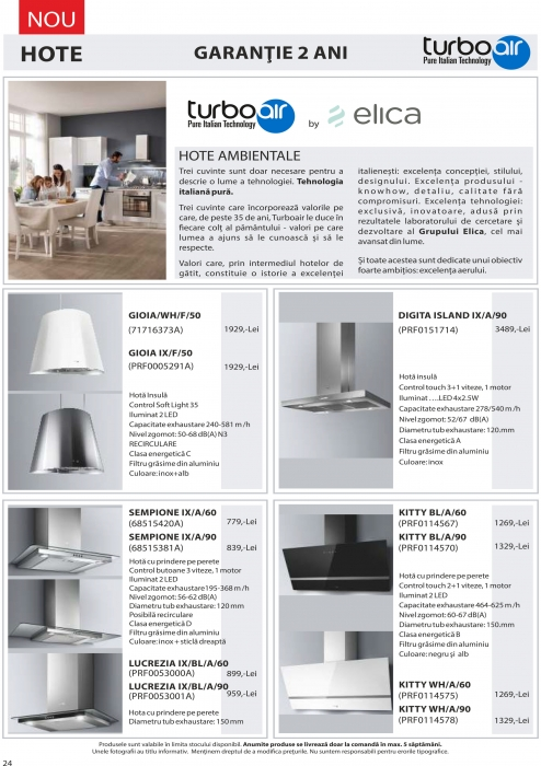 Catalog Blanco 2019, electrocasnice incorporabile 23