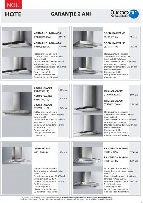 Catalog Blanco 2019, electrocasnice incorporabile 24