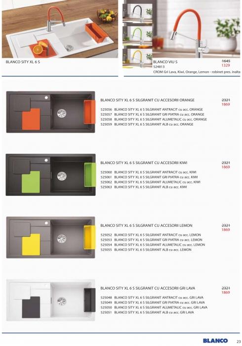 Catalog Blanco 2019, electrocasnice incorporabile 22