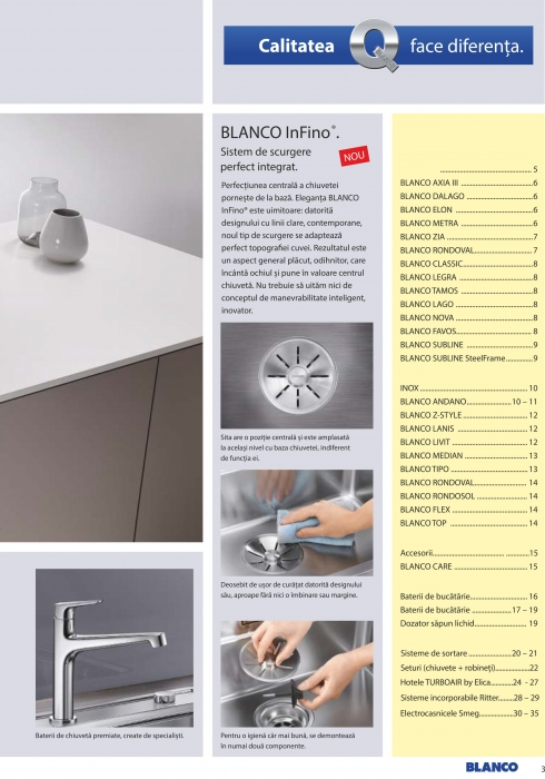 Catalog Blanco 2019, electrocasnice incorporabile 2