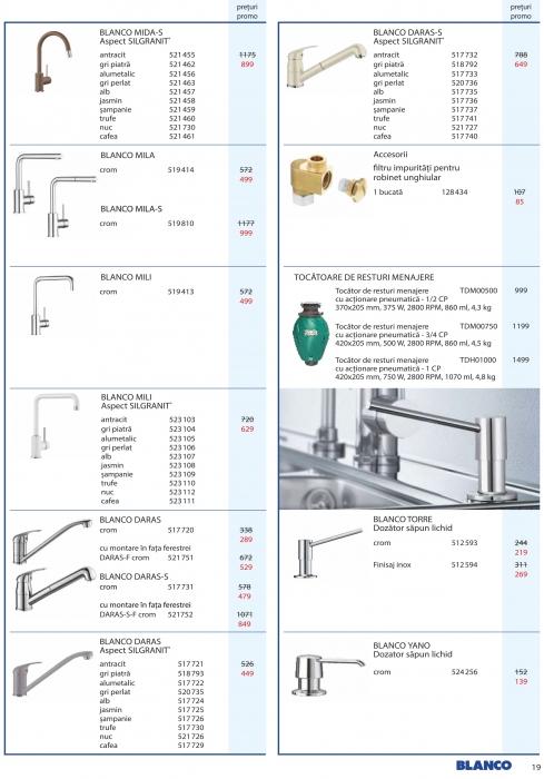 Catalog Blanco 2019, electrocasnice incorporabile 18