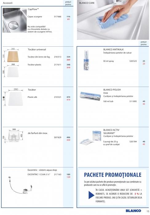 Catalog Blanco 2019, electrocasnice incorporabile 14