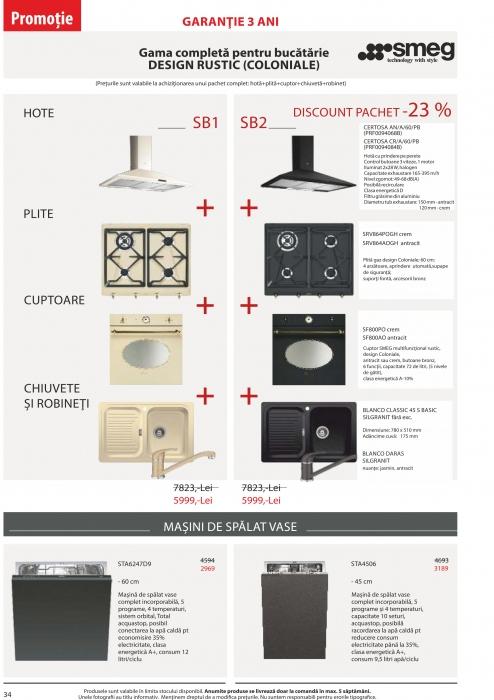 Catalog Blanco 2019, electrocasnice incorporabile 33