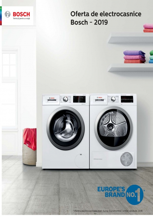 Catalog Bosch 2019, electrocasnice incorporabile 0