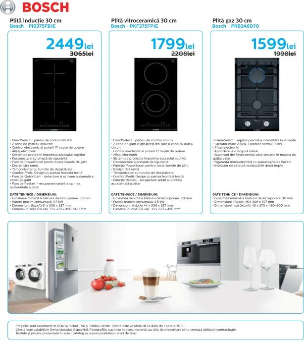 Catalog Bosch 2019, electrocasnice incorporabile 11