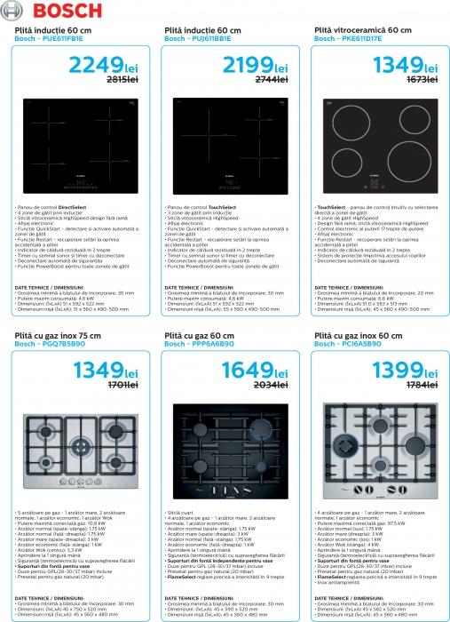 Catalog Bosch 2019, electrocasnice incorporabile 4