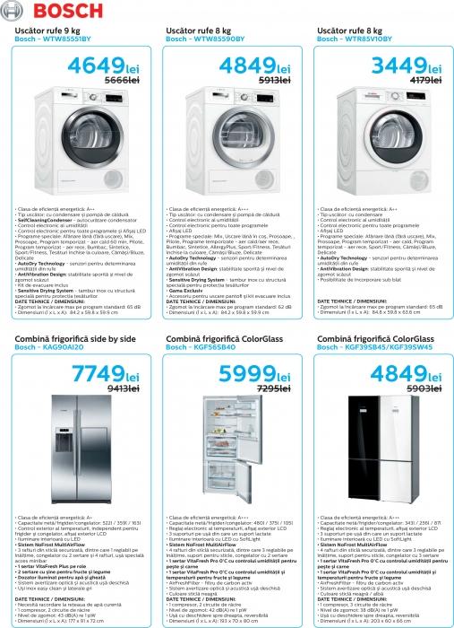 Catalog Bosch 2019, electrocasnice incorporabile 9