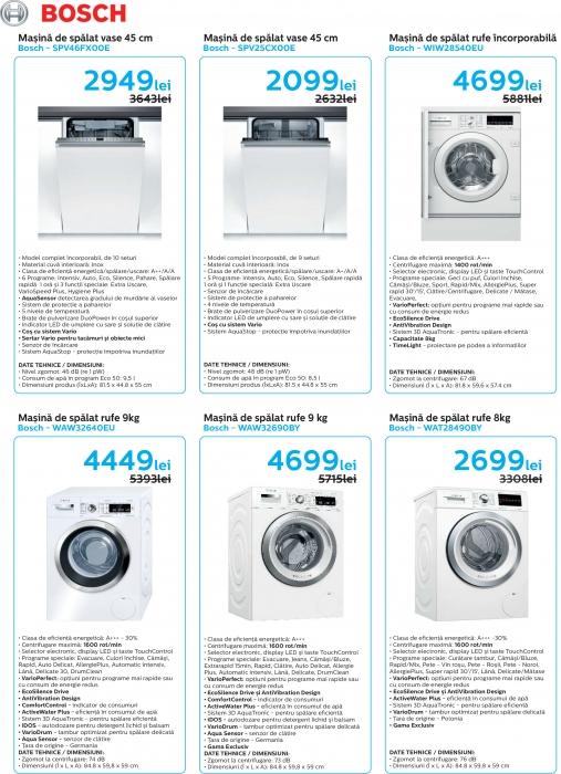 Catalog Bosch 2019, electrocasnice incorporabile 8