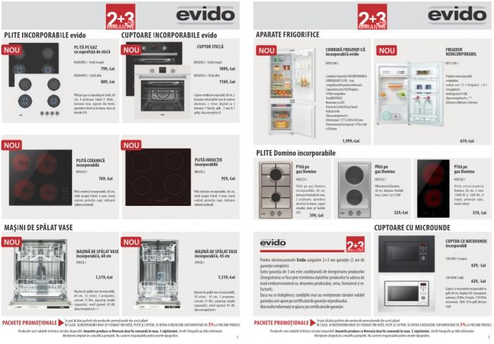 Catalog Evido 2019, electrocasnice incorporabile 2