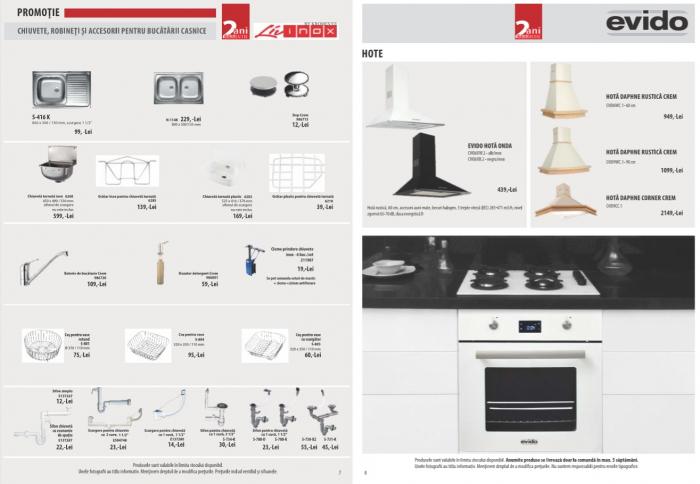 Catalog Evido 2019, electrocasnice incorporabile 4