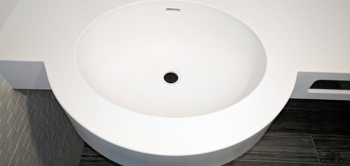 Chiuvetă pentru baie din Corian 0