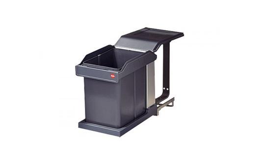 Coș de gunoi extractibil cu ghidaj ușă 0