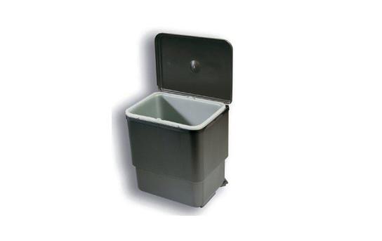 Coș de gunoi pivotant [0]