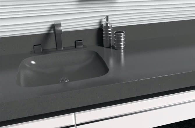 Corian Carbon Concrete [4]