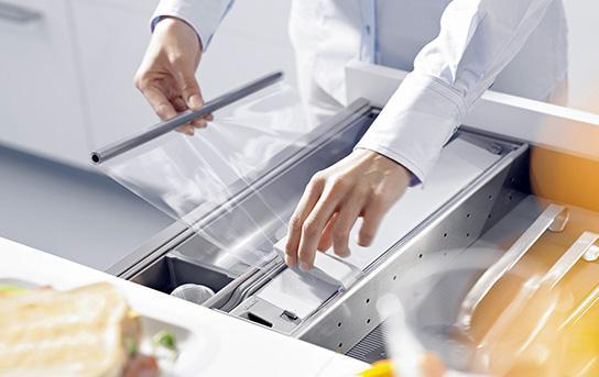 Dispozitiv tăiat folie pentru conservarea alimentelor Orga-Line 0