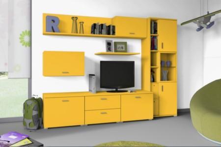 PAL melaminat Egger Galben Office 1