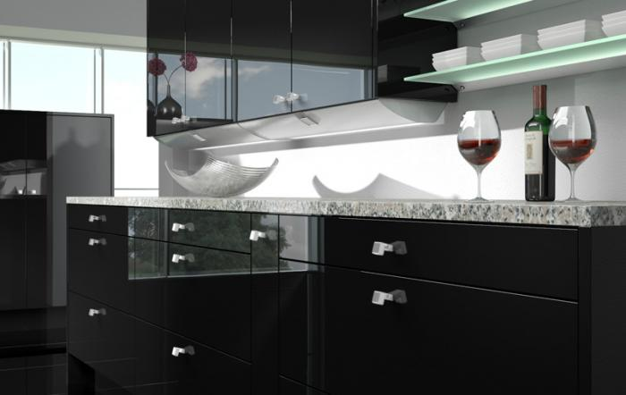 Mâner mobilă bucătărie Deluxe Sarus 0