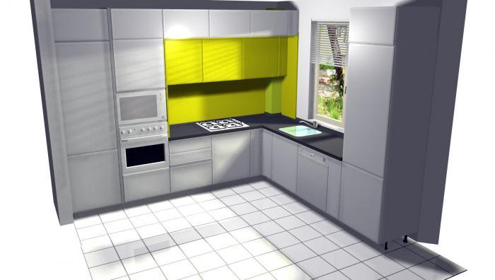 Proiect bucătărie Norvinia Nr-1 0