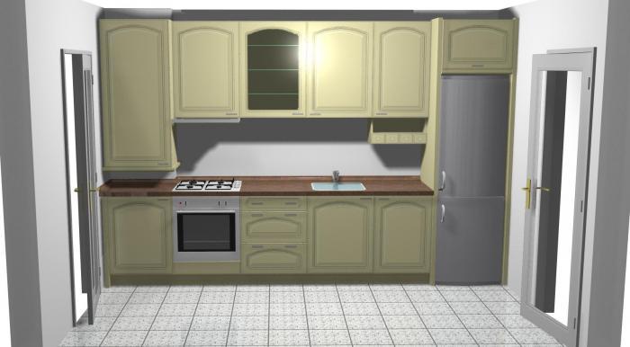 Proiect bucătărie Norvinia Nr-12 0