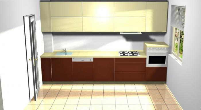 Proiect bucătărie Norvinia Nr-3 0