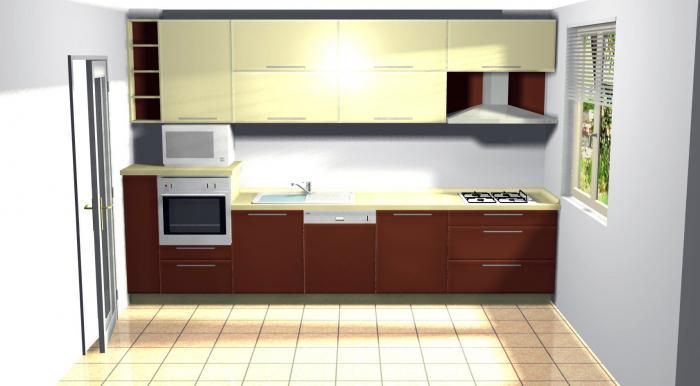 Proiect bucătărie Norvinia Nr-4 [0]