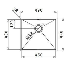 Pyramis Tetragon 1B 45x40 1
