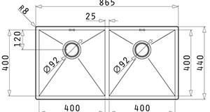 Pyramis Tetragon 2B 86.5x44 1