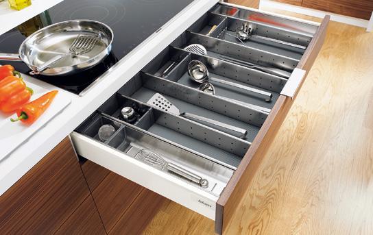 Sistem compartimentare Orga-Line pentru sertare Tandembox 0