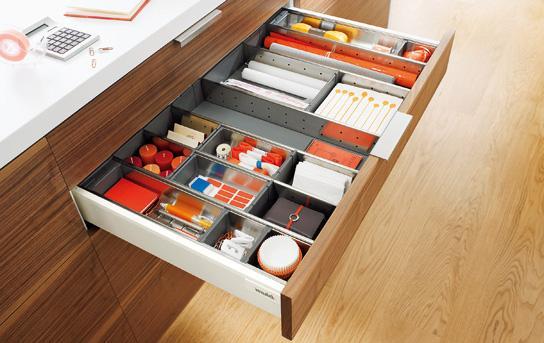 Sistem compartimentare Orga-Line pentru sertare Tandembox 1