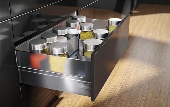 Sistem compartimentare sertare Orga-Line pentru Tandembox - extrageri cu front înalt 1