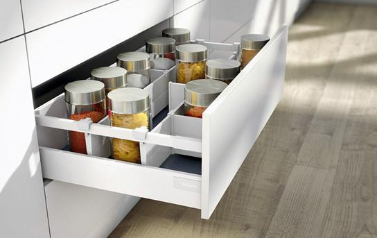 Sistem compartimentare sertare Orga-Line pentru Tandembox - extrageri cu front înalt 0