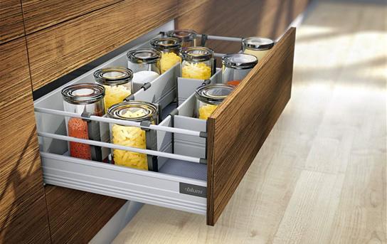 Sistem compartimentare sertare Orga-Line pentru Tandembox - extrageri cu front înalt 2
