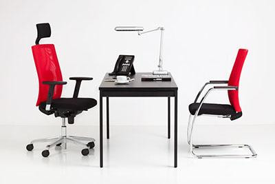Scaun birou Sit.Net HRU LU R15K Steel 36 Chrome [1]