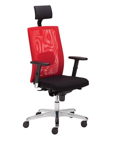 Scaun birou Sit.Net HRU LU R15K Steel 36 Chrome [0]