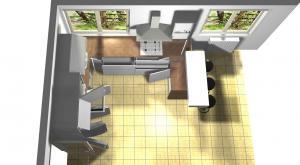 Proiect bucătărie la comandă Norvinia nr.634