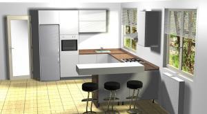Proiect bucătărie la comandă Norvinia nr.631