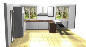 Proiect bucătărie la comandă Norvinia nr.632