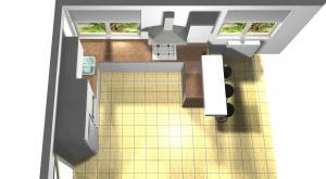 Proiect bucătărie la comandă Norvinia nr.633