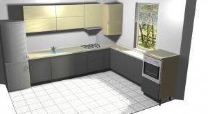 Proiect bucătărie Norvinia Nr-64 [0]