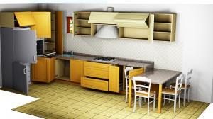 Proiect bucătărie la comandă Norvinia nr.661
