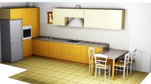 Proiect bucătărie la comandă Norvinia nr.660