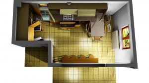 Proiect bucătărie la comandă Norvinia nr.665
