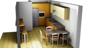 Proiect bucătărie la comandă Norvinia nr.663