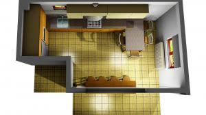 Proiect bucătărie la comandă Norvinia nr.664