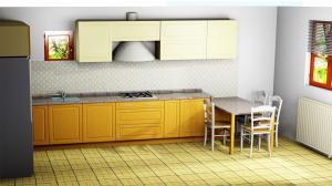 Proiect bucătărie la comandă Norvinia nr.662