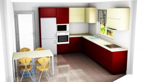 Proiect bucătărie la comandă Norvinia nr.732