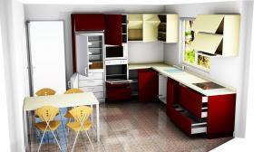 Proiect bucătărie la comandă Norvinia nr.733